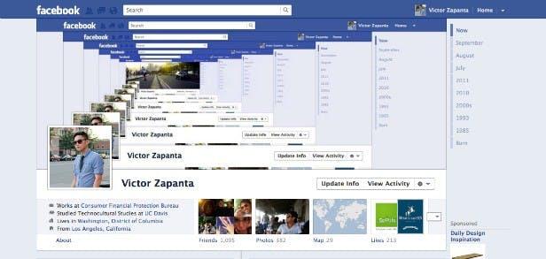 40 Beispiele für kreative Facebook-Chroniken