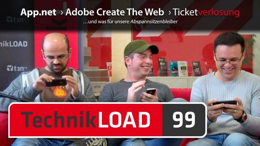 App.net, Netbot, Adobe Create The Web, Verlosung [TechnikLOAD 99]