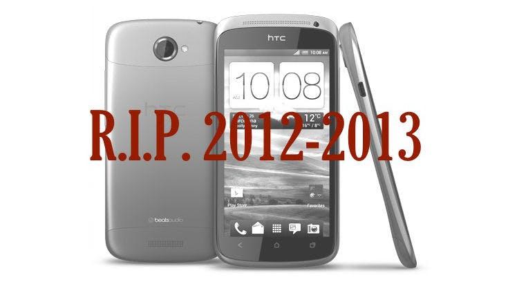 HTC One S: Kein Update auf Android 4.2 und Sense 5