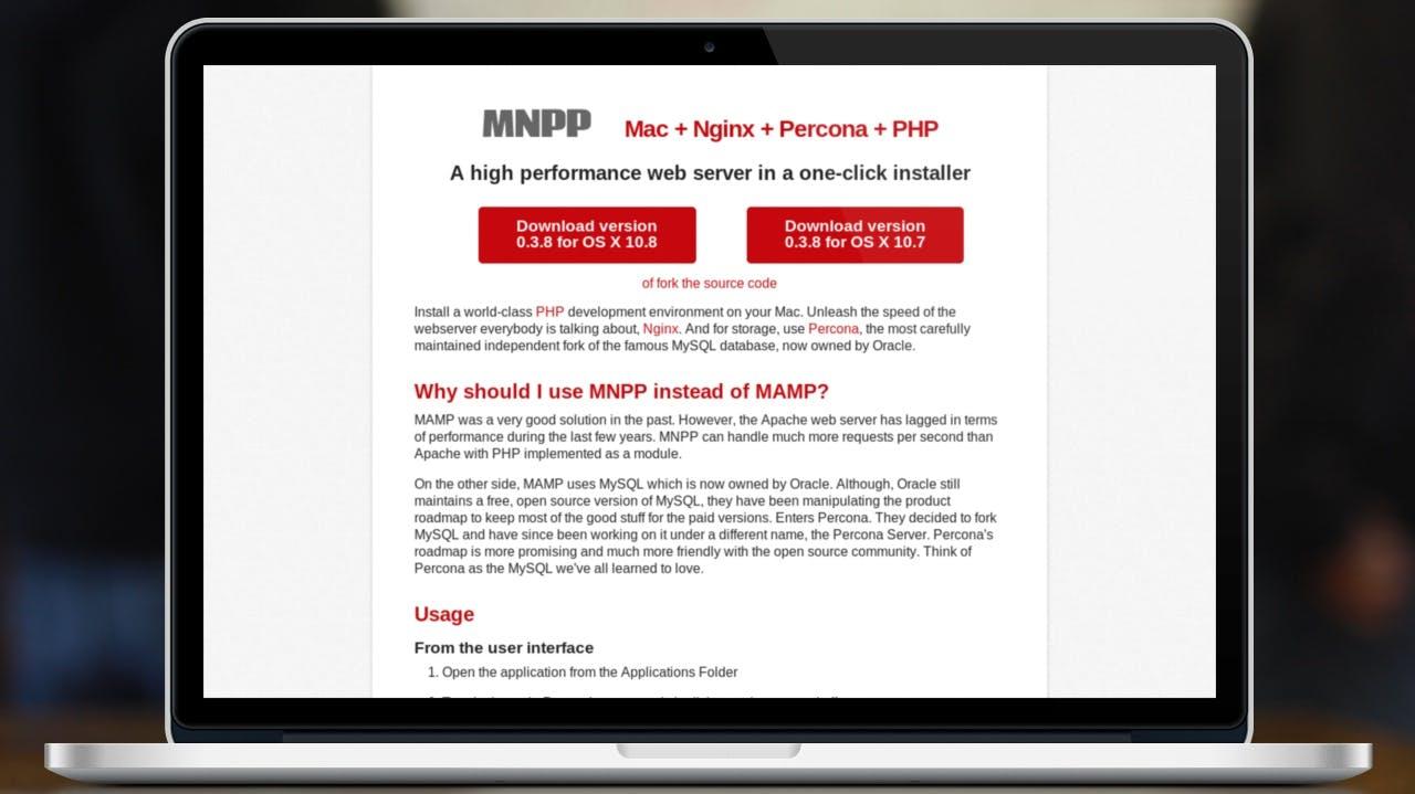One-Click-Server MNPP setzt auf Nginx und Percona