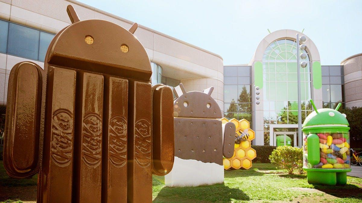 Android-Update verfügbar: HTC One und Galaxy S4 ab jetzt mit KitKat