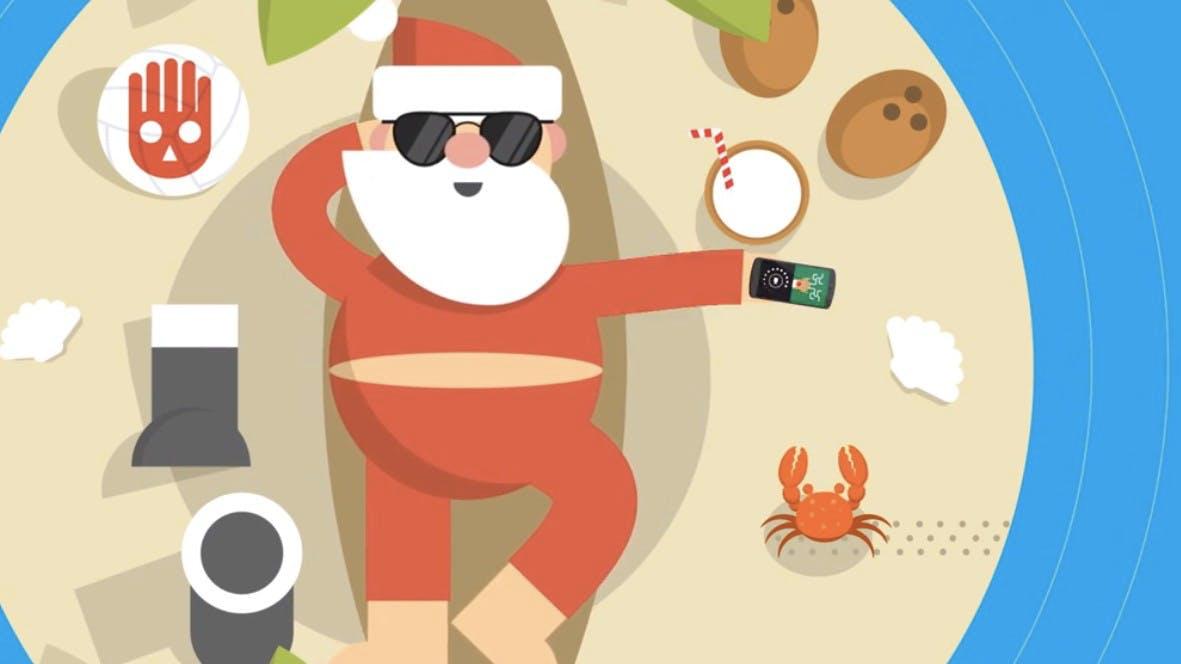 Der Santa-Tracker ist zurück – Googles HTML5-Seite für den Weihnachtsmann