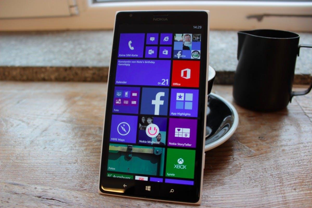 Nokia Lumia 1520 im Test: Windows Phone 8 ganz groß