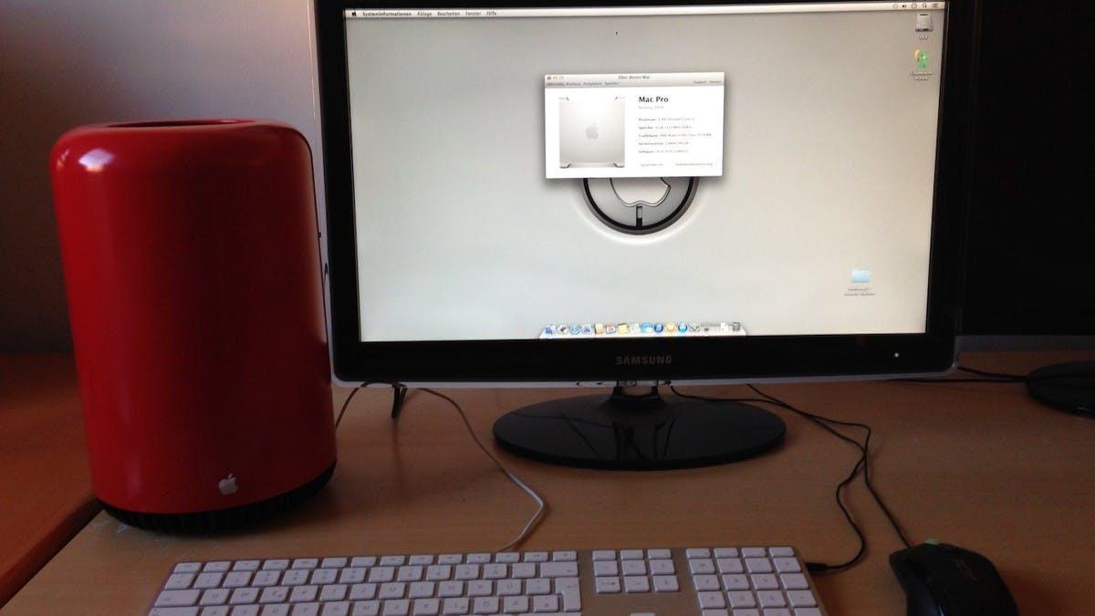 Mülleimer statt Mac Pro: Modder kopiert Apple-Design