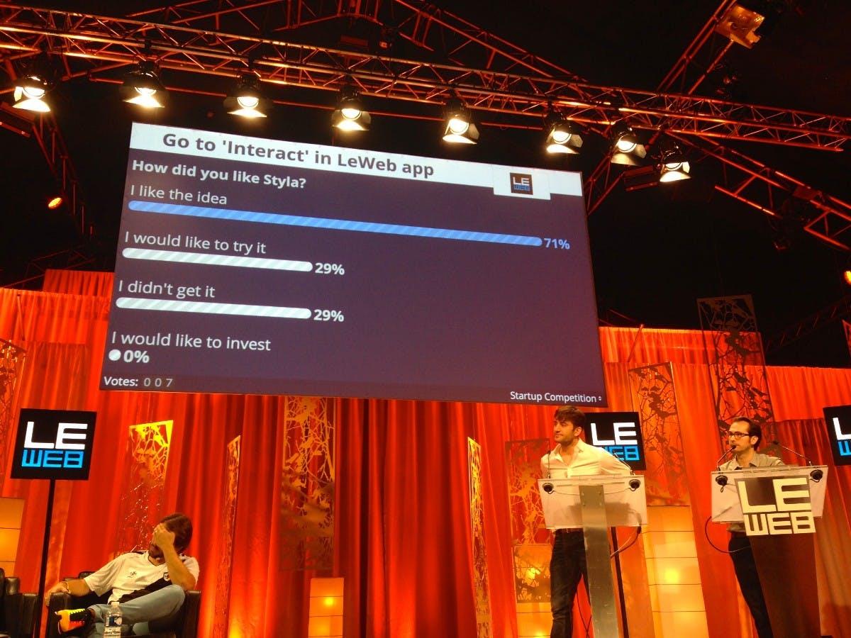 Startup-Pitch hautnah: Mit Styla und local.app auf der LeWeb in Paris