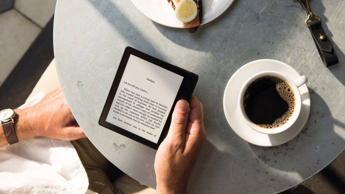 Kindle Oasis: Amazons neuer E-Reader ist superflach und superteuer