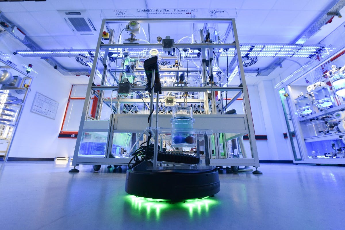 Digitale Transformation: Deutsche Wissenschaftler bauen Mini-Fabrik der Zukunft