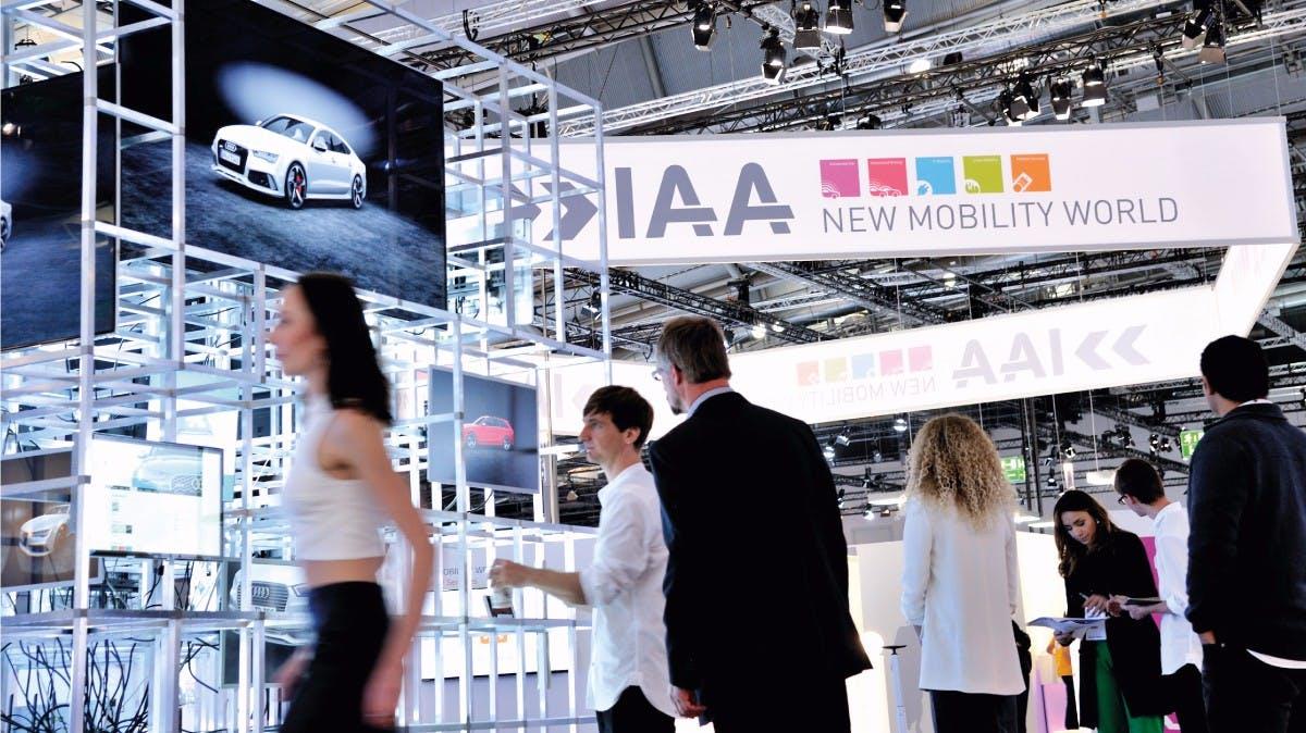 Innovationen zum Anfassen: Die New Mobility World auf der IAA