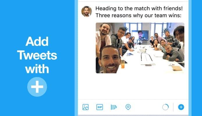 Twitter führt Threads ein