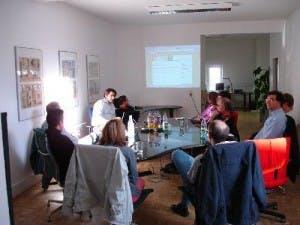 Treffen der User Group Frankfurt.