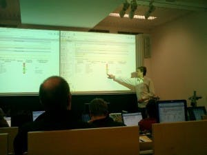 Dan Frost in Darmstadt: Object-TypoScript-Workshop