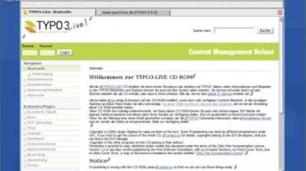 TYPO3 kennenlernen ohne Mühe: TYPO3-Live!