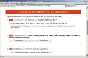 TYPO3 4.0: XHTML