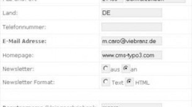 Newsletter-Versand mit TYPO3 Teil 2: Direct Mail