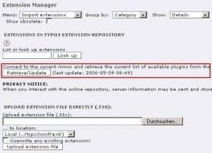 Problemstellen beim Update auf TYPO3 4.0 und die passenden Gegenmittel: Hindernisse kurz vor 4