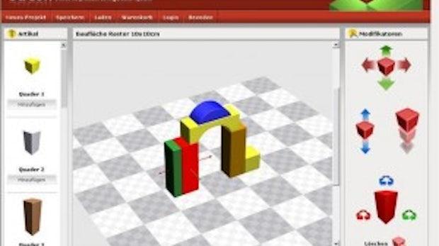 3D-Produktkonfigurator auf Basis von TYPO3: Vorstoß in die dritte Dimension