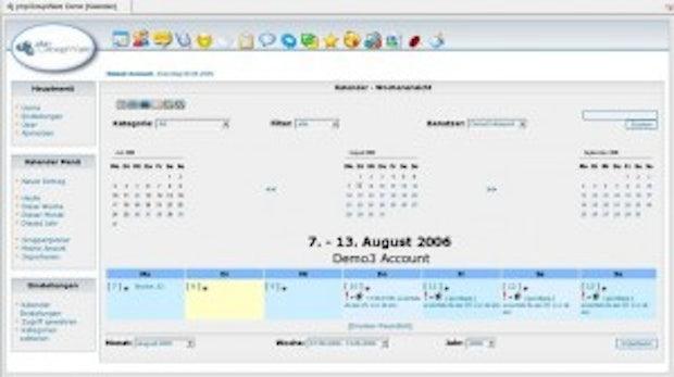 Freie Software organisiert die Arbeit in Gruppen: phpGroupWare