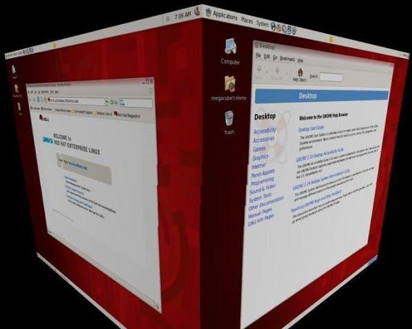 Red Hat Enterprise Linux 5 wird auch eine neue Desktop-Oberfläche bieten.