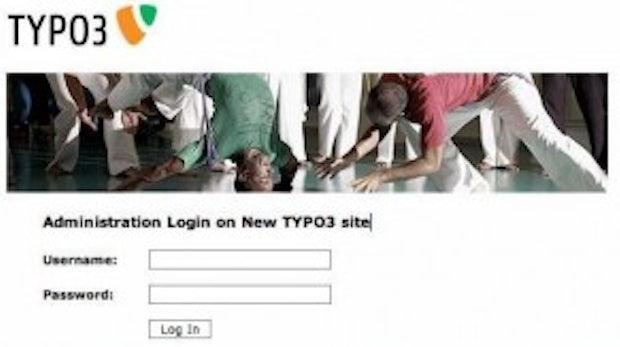 TYPO3-Backend-Login individuell anpassen: Hübsche Eingangstür