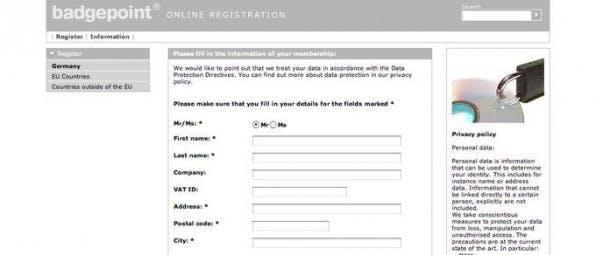 Eine Registrierung reicht zur Nutzung des Portals und des Shops