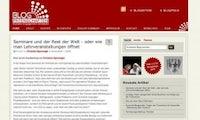 Blogosphäre - Zwischen Web-2.0-Unlust und sozialem Engagement: Deutschlands schlafmützige Internetnutzer
