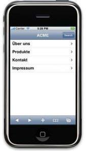 Teil 2 - Eigene Webapplikation für das iPhone mit iUI entwickeln: Webentwicklung für das iPhone