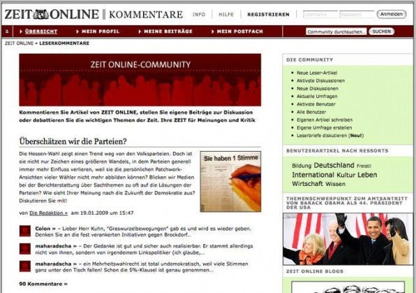 Zeit Online: Das Open-Source-Community-Framework Drupal im Online-Journalismus