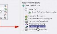 Mehrsprachigkeit für Einsteiger: Konfiguration des TYPO3-Backends für mehrere Sprachen