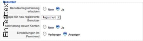 Gruppenrechte mit Bordmitteln und Erweiterungen, Ausblick auf Version 1.6: Benutzer verwalten in Joomla