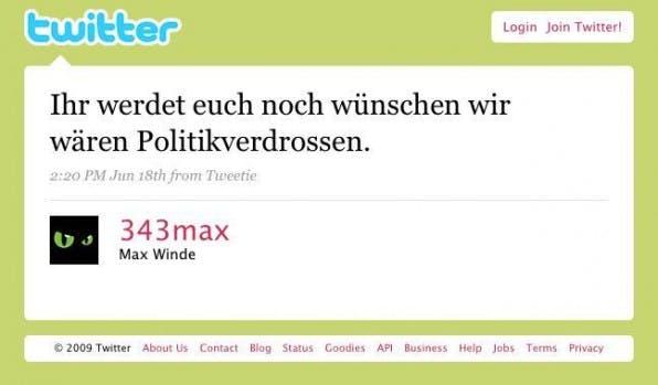 Blogs und Twitter im Wahljahr 2009: Die Politosphäre