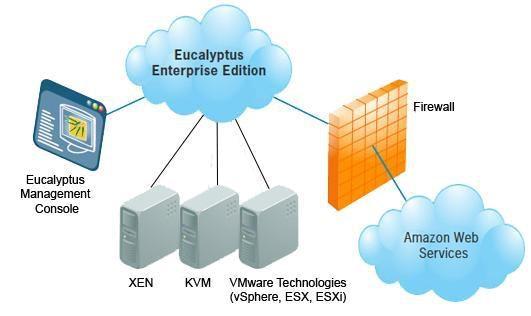 Mit der Open-Source-Software Eucalyptus lässt sich eine lokale Cloud-Infrastruktur aufbauen, die zudem noch kompatibel zu Amazons Cloud-Lösung ist.