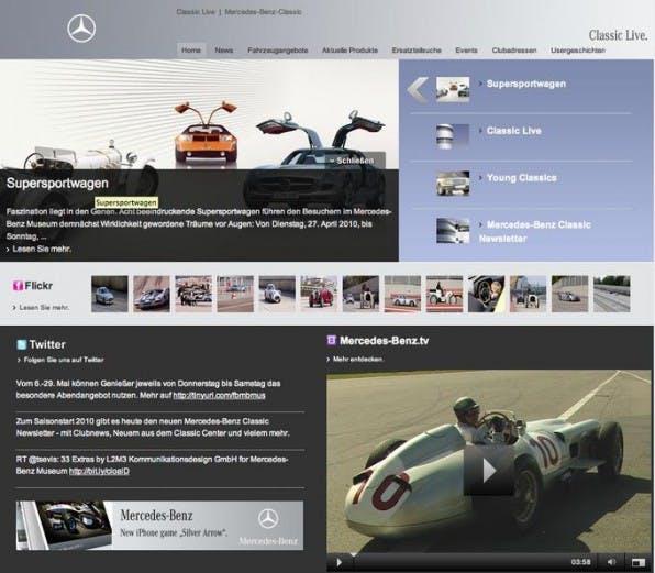 Social Newsrooms erweitern herkömmliche Pressebereiche um soziale Komponenten. Dies kann nicht nur für große Unternehmen wie Mercedes-Benz interessant sein.