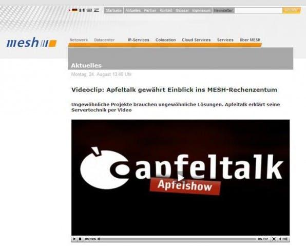 CDN-Elemente einer Website sind unter anderem: Videos,  Text, Logos.