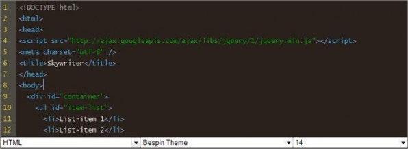 Der Skywriter von Mozilla unterstützt verschiedene Sprachen und kann per Bookmarklet auf Textfelder einer Webseite angewendet werden.