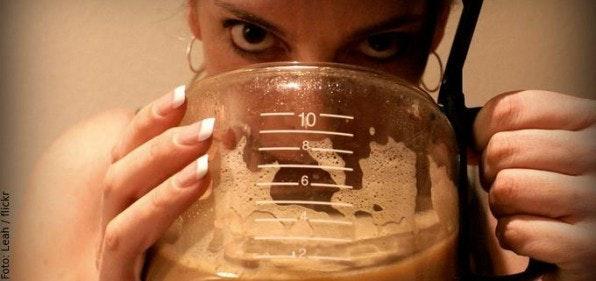 150 Liter Kaffee trinkt der Durchschnittsdeutsche im Jahr. Dabei tun sich viele Konsumenten Industriekaffee aus Pumpkannen an.