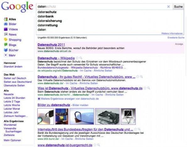 Vorschläge beim Eintippen von Suchbegriffen sind nur eine Spielart von Vorhersagen im Web.