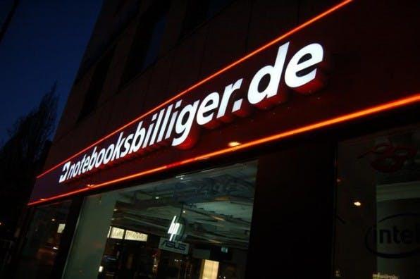 Der Onlineshop Notebooksbilliger.de eröffnete in München ein stationäres Laden-Geschäft.