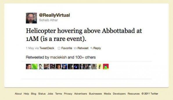Der Pakistani Sohaib Athar twitterte eine Nacht lang seine Beobachtungen in Abbottabad. Er ist kein Journalist, aber er handelte wie einer, indem er Nachrichten veröffentlichte, einordnete und bewertete.