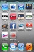 Die Web-App unterscheidet sich auf dem Homescreen nicht von den nativen Apps.