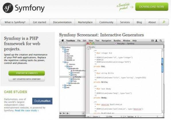 Symfony2 setzt stark darauf, bewährte Lösungen anderer Frameworks zu übernehmen und kann damit eine hohe Qualität vorweisen.