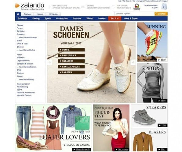 Zalando agiert mittlerweile auch erfolgreich in den Niederlanden, Italien, Frankreich, Großbritannien, Österreich und der Schweiz.