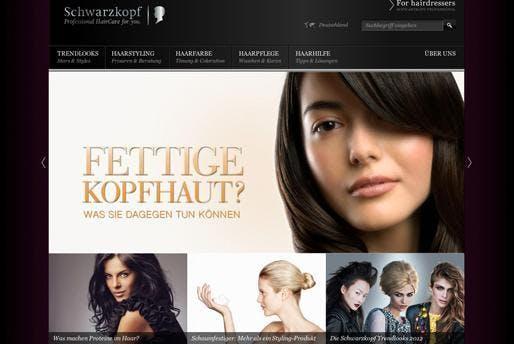 Erst der Inhalt, dann die Marke: Schwarzkopf setzt seit etwa einem Jahr auf Content-Marketing, im Vordergrund stehen allgemeine Themen zur Haarpflege.