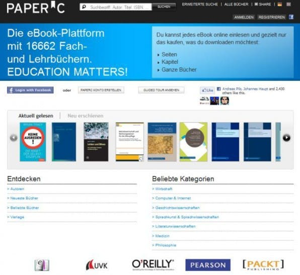 "PaperC: ein echtes Startup ""made (and invented) in Germany""."