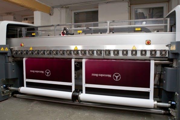 Ein Großteil der Produkte wird bei Easydisplay direkt in Hannover gedruckt.