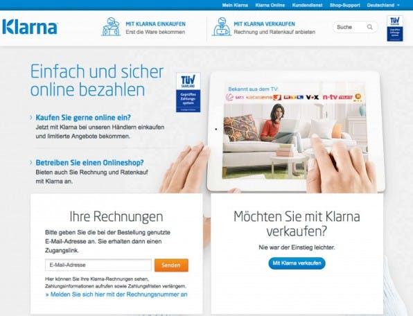 Online-Händlern, die die Bezahlart Rechnungskauf anbieten, bietet das Unternehmen Klarna Risikomanagement in Verbindung mit Factoring.