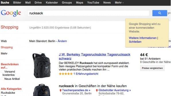 Google Shopping ist für Händler zwar nicht mehr kostenlos, wirkt sich aber noch immer positiv auf Traffic- und Umsatzzahlen aus.
