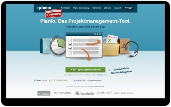 Planio bietet eine ganzheitliche Projekt-Management-Software, die auf dem quelloffenen System Redmine basiert und eine Vielzahl von Diensten vereint.