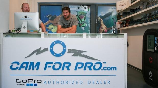 E-Commerce mit viel Action: Online-Shop-Porträt camforpro.com