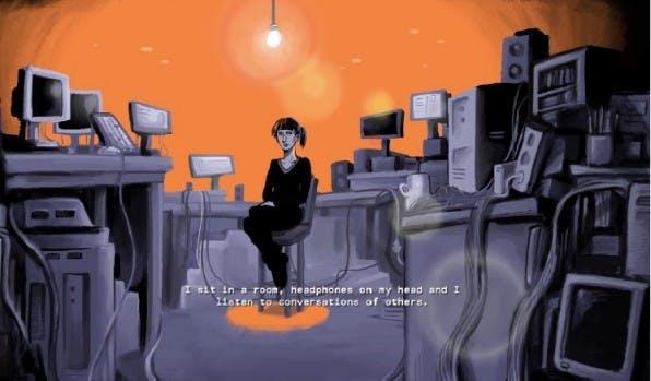 Wie gut Storytelling mit One-Page-Design funktioniert beweist der interaktiver Trailer für das E-Book De Vriend eindrucksvoll.
