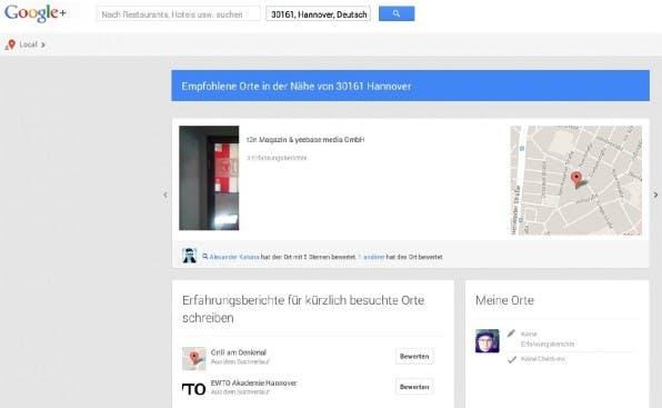 Google+ Local-Einträge und dazugehörige Bewertungen gehören zu den wichtigen Ranking-Faktoren.